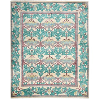 """Arts & Crafts, Hand Knotted Area Rug - 7'10"""" X 9'10"""""""