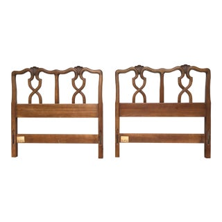 Vintage Kindel Milano Twin Headboards - A Pair