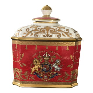 Coronation of Queen Elizabeth II Commemorative Jar