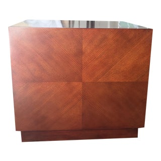 Mitchell Gold & Bob Williams Rosewood Cube Table