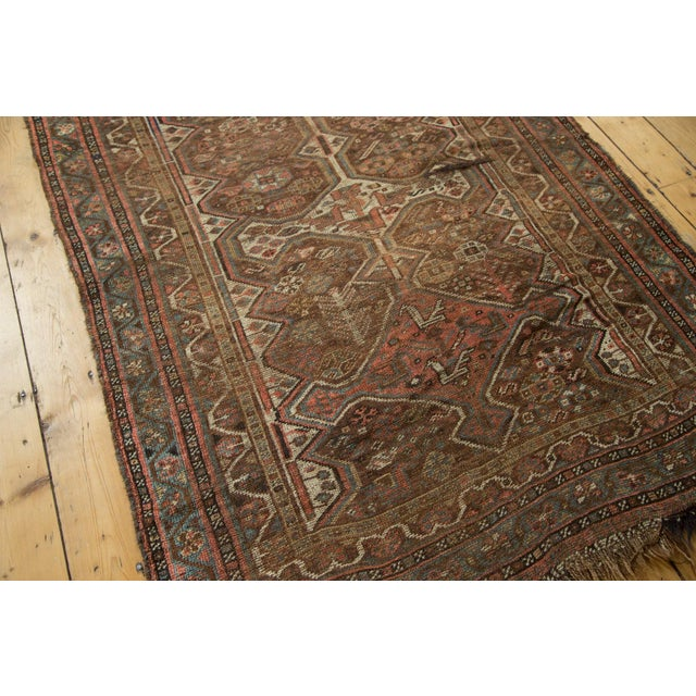 "Antique Kamseh Rug - 4'6"" x 6'8"" - Image 3 of 10"