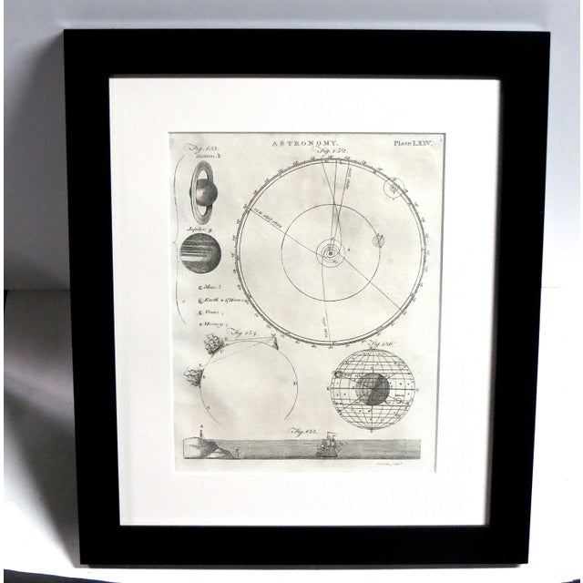 1790s Astronomy Engraving - Image 2 of 3