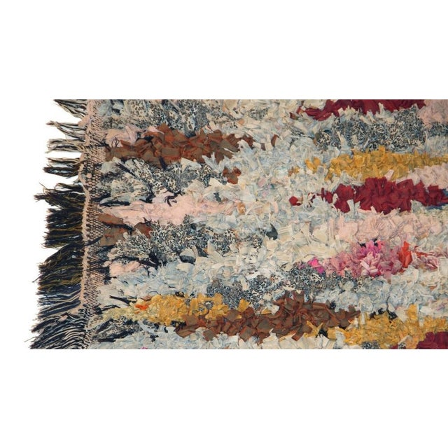 "Vintage Boucherouite Carpet - 5'10"" X 2'10"" - Image 2 of 3"