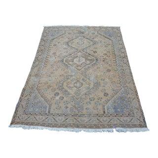 Persian Antique Handwoven Carpet - 4′8″ × 6′7″