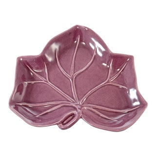 Purple & Jade Leaf Tray