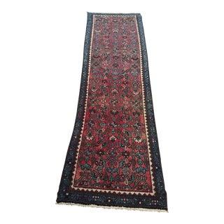 """Vintage Oriental Rug Runner - 2' x 7'6"""""""