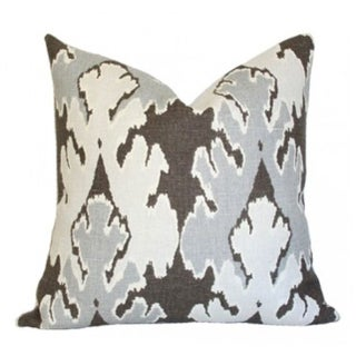 Kelly Wearstler Bengal Bazaar Smoke Pillow