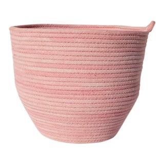 Pink Cotton Rope Bowl