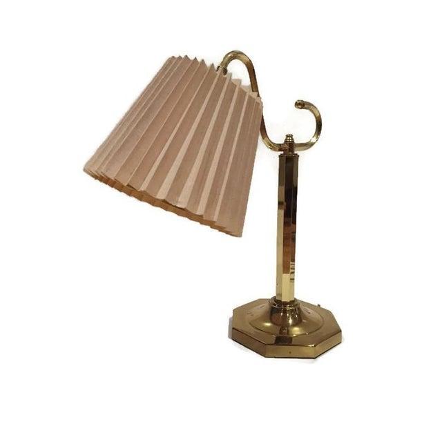 Vintage Modern Brass Desk Lamp - Image 4 of 6