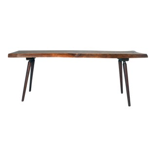 Roy Sheldon Long Free Edge Cocktail Table
