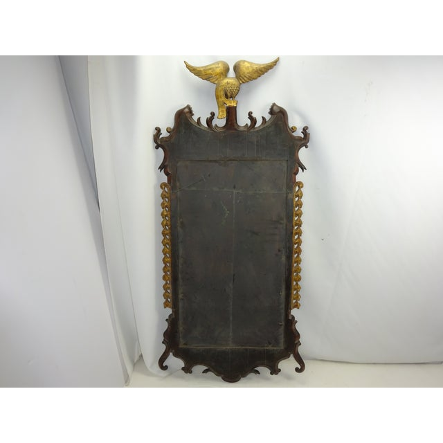 Federal Carved Wood Eagle Gilt Mirror - Image 7 of 9