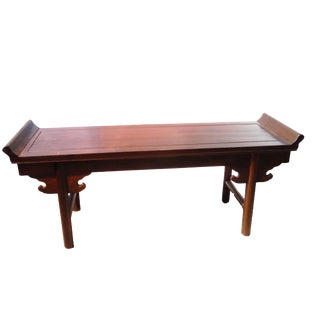 Cantonese Wood Bench Or Table