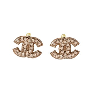 Chanel Blink CC Large Clip on Earrings