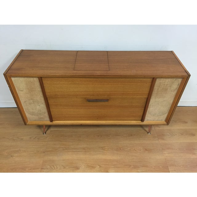 Mid-Century Saba German Radio Console - Image 3 of 11