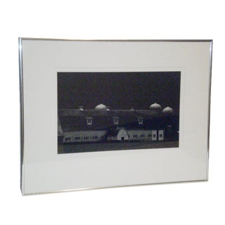 Signed & Dated Myron Wood B & W Photograph