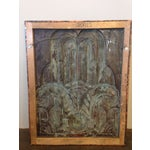 Image of Art Deco Style Copper Panel