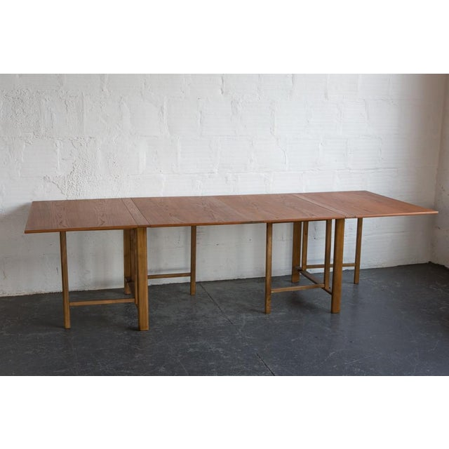 Bruno Mathsson Expandable Dining Table - Image 3 of 8