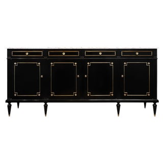 French Antique Louis XVI Style Grand Buffet