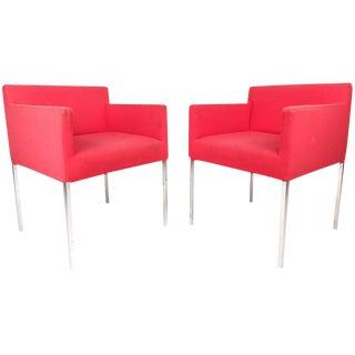 Mid-Century Modern Club Chairs - a Pair