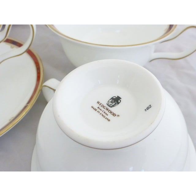"Wedgwood ""Colorado Gold"" Cream Soup & Saucers Set - Image 4 of 7"