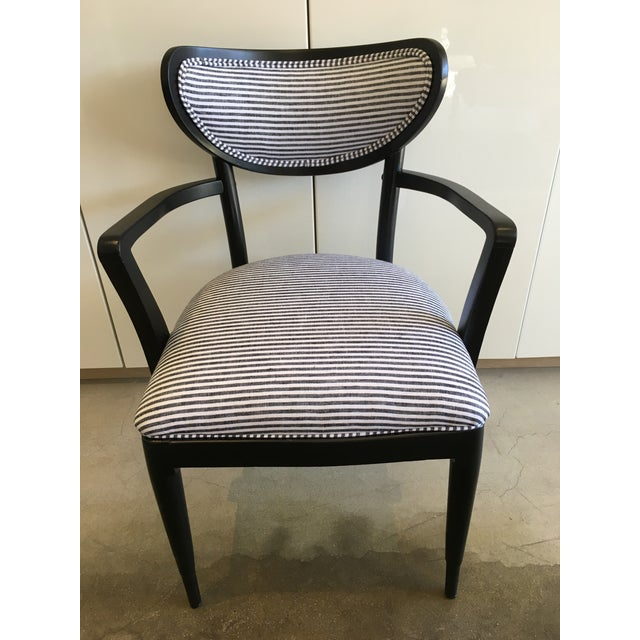 Mid-Century Crescent Back Dining Chairs - Set of 4 - Image 4 of 10