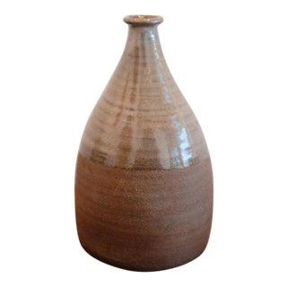 Stamped Studio Pottery Ceramic Vessel