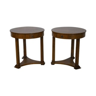 Baker French Empire End Tables - A Pair