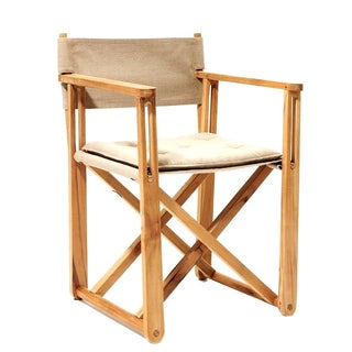 Kryss Teak Folding Chair - Retail $432