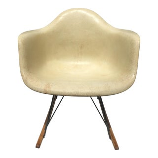 Vintage Eames Shell Rocking Chair