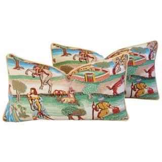 Designer Brunschwig & Fils Pillows - Pair