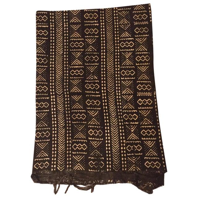 Black & Ivory African Mud Cloth - Image 1 of 5