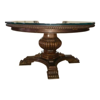 Universal Furniture Villa Cortina Pedestal Table