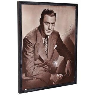 1940s Jack Benny Autographed Photo