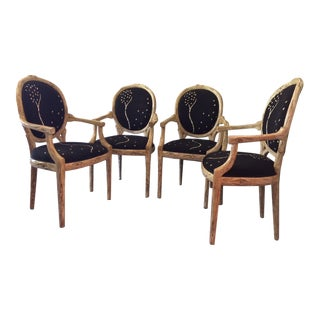 Michael Taylor Dining Chairs - Set of 4