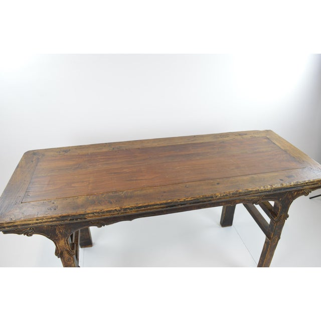Rustic Antique Chinese Console Table - Image 6 of 10