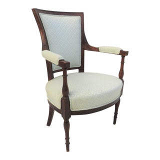 19th Century French Walnut Arm Chair