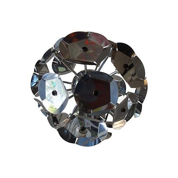 1970s Italian Sputnik Chandelier - Image 3 of 6