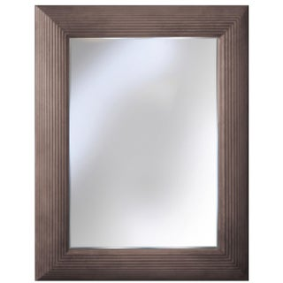 Sarreid LTD Gray Quartz Finish Virna Mirror