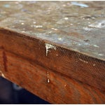 Image of Vintage Wooden Work Table
