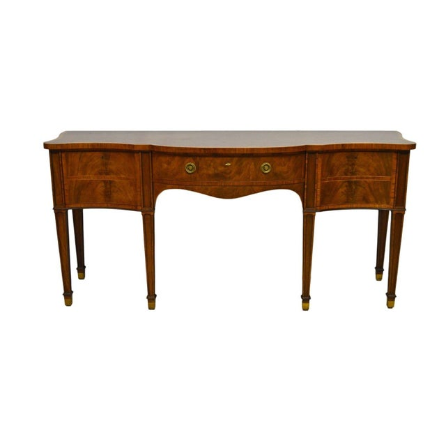 Baker Furniture Stately Homes Collection Mahogany Inlaid Sideboard - Image 11 of 11