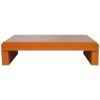 Karl Springer Lacquer Airport Coffee Table, 1980
