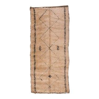 Vintage Beni Ourain Rug - 6′2″ × 14′3″