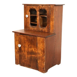 American Walnut Wood Cabinet