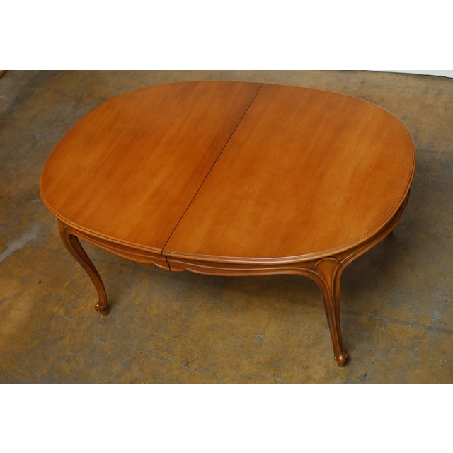 Drexel Vintage French Provincial Dining Table - Image 4 of 6