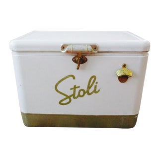 Stoli Vodka Ice Chest