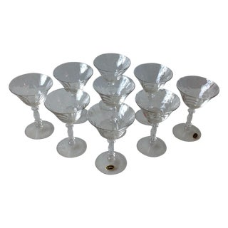 Cambridge Optic Crystal Cocktail Stemware