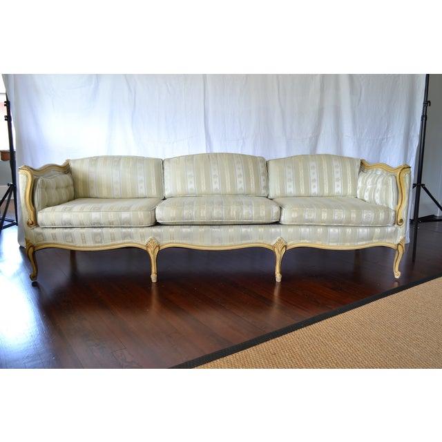 Mangurians Vintage French Provincial Sofa Chairish