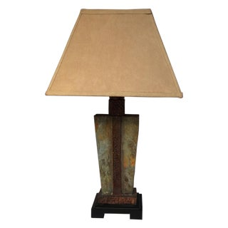 Outdoor Slate Table Lamp