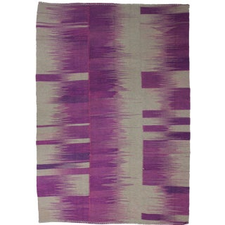 Aara Rugs Inc. Hand Knotted Patchwork Kilim - 6′4″ × 9′
