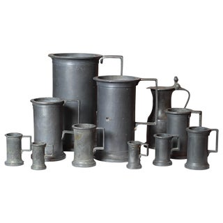 Pewter Vessel Collection- Set of 11